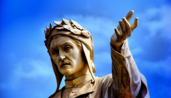 Statua-Dante-Napoli